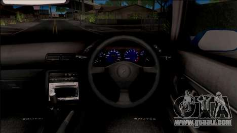 Nissan Skyline R32 for GTA San Andreas inner view
