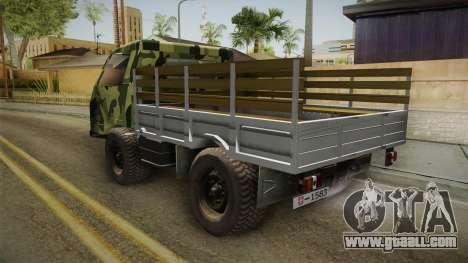 TAM 110 Vojno Vozilo for GTA San Andreas right view