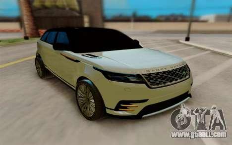 Range Rover Velar 2017 for GTA San Andreas