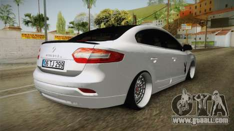 Renault Fluence PlayBoy for GTA San Andreas right view