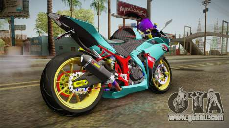 Yamaha R25 Contest for GTA San Andreas left view