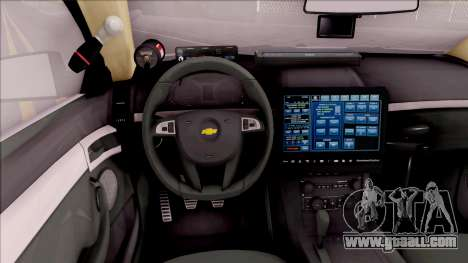 Chevrolet Caprice 2013 Los Santos PD v3 for GTA San Andreas inner view