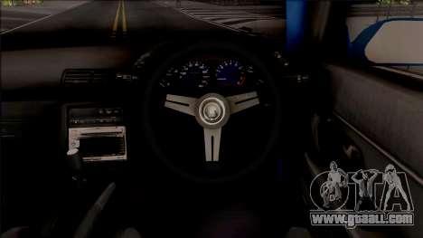 Nissan Skyline R32 Pickup Rocket Bunny v2 for GTA San Andreas inner view