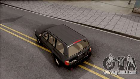 Toyota Land Cruiser 2005 for GTA San Andreas back view