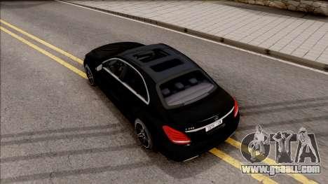 Mercedes-Benz C250 AMG Line v2 for GTA San Andreas
