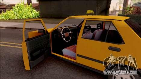 Tofas Sahin Taxi 1999 for GTA San Andreas inner view