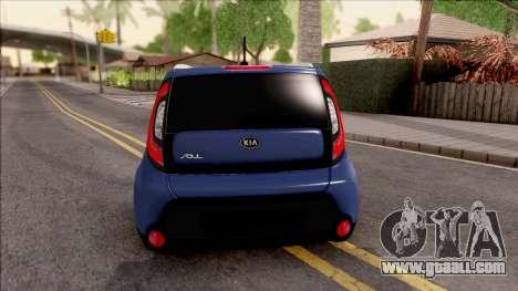 Kia Soul for GTA San Andreas back left view