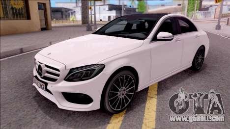 Mercedes-Benz C250 AMG Line for GTA San Andreas