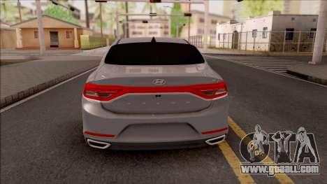 Hyundai Azera 2018 for GTA San Andreas back left view