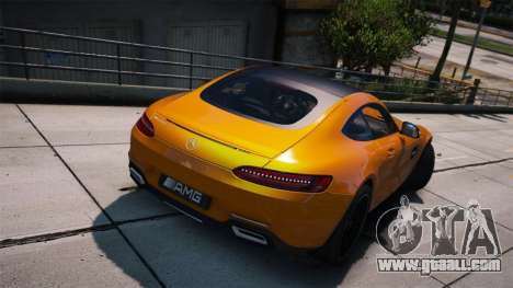 GTA 5 Mercedes-Benz AMG GT S 2016 left side view