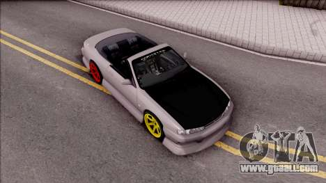 Nissan 200SX Cabrio Drift Monster Energy for GTA San Andreas right view