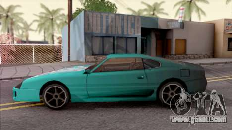 Miku Hatsune Jester Car for GTA San Andreas left view