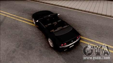 Nissan Skyline R33 Cabrio for GTA San Andreas back view