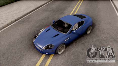 Aston Martin DB9 Drift Style - Drift Handling for GTA San Andreas right view