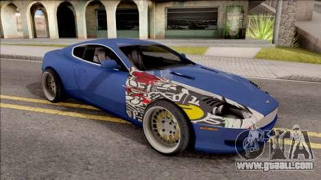 Aston Martin DB9 Drift Style - Drift Handling for GTA San Andreas