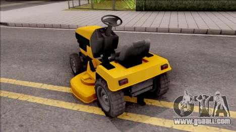 GTA V Jacksheepe Lawn Mower for GTA San Andreas left view
