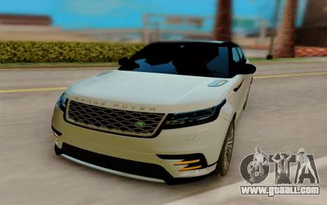 Range Rover Velar 2017 for GTA San Andreas right view