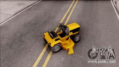 GTA V Jacksheepe Lawn Mower for GTA San Andreas back left view