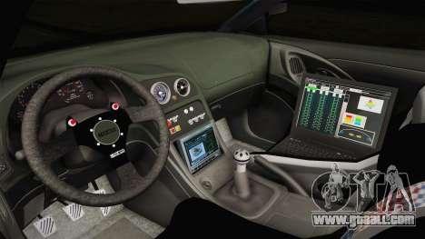 Mitsubishi Eclipse GST 1997 for GTA San Andreas inner view