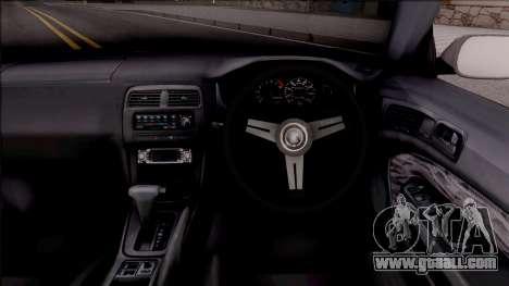 Nissan 200SX Cabrio Drift Monster Energy for GTA San Andreas inner view