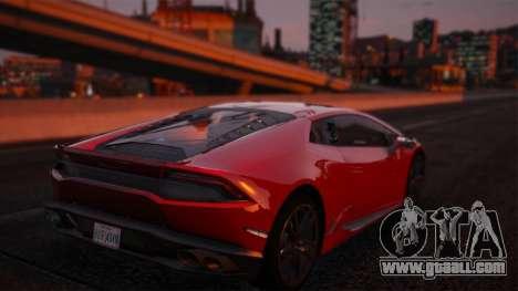 GTA 5 Lamborghini Huracan LP610-4 left side view