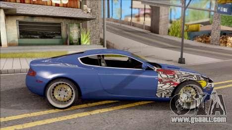 Aston Martin DB9 Drift Style - Drift Handling for GTA San Andreas left view