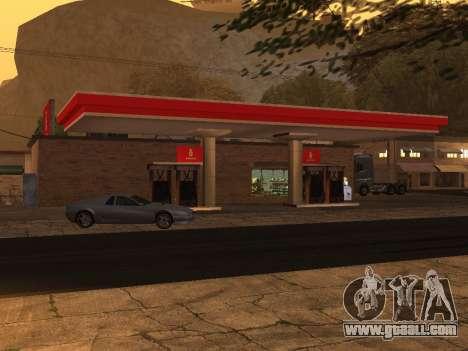 Benzina Sign for GTA San Andreas