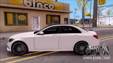 Mercedes-Benz C250 AMG Line for GTA San Andreas left view