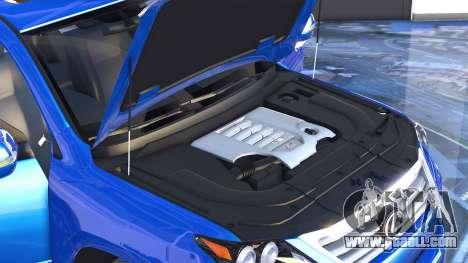 GTA 5 Lexus LX570 2014 rear right side view