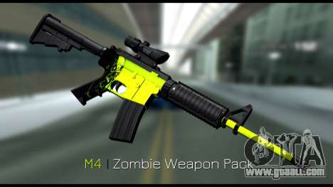 Zombie Weapon Pack for GTA San Andreas second screenshot