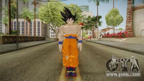 DBXV2 Goku Limit Breaker Skin for GTA San Andreas second screenshot