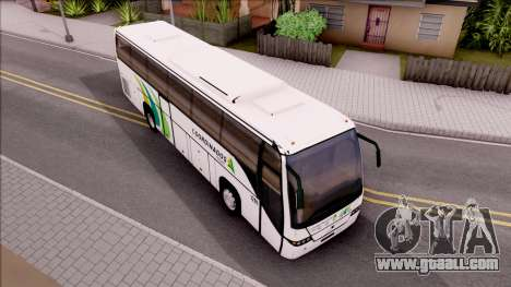 Volvo 9700 Coordinados Bus Mexico for GTA San Andreas right view