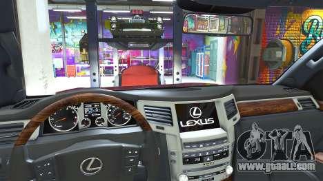 GTA 5 Lexus LX570 2014 right side view