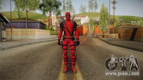 Deadpool The Movie Skin for GTA San Andreas second screenshot