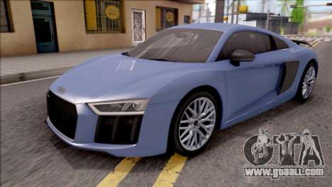 Audi R8 V10 Plus 2018 for GTA San Andreas