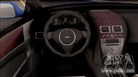 Aston Martin DB9 Drift Style - Drift Handling for GTA San Andreas inner view