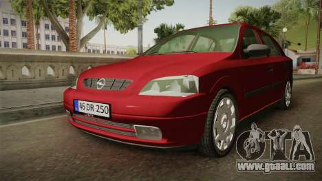Opel Astra G for GTA San Andreas back left view