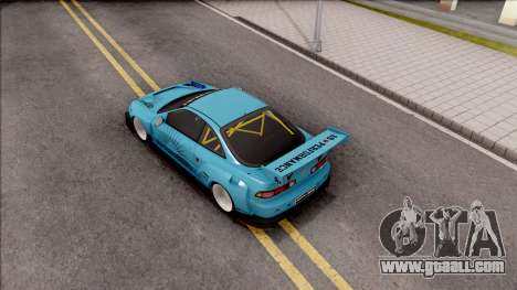 Honda Integra R Integranpa Concept for GTA San Andreas back view
