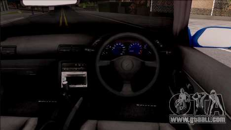 Nissan Skyline R32 Cabrio for GTA San Andreas inner view