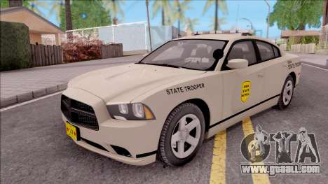 Dodge Charger 2012 Iowa State Patrol for GTA San Andreas