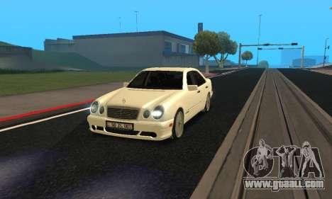 Mercedes-Benz E420 Armenian for GTA San Andreas right view