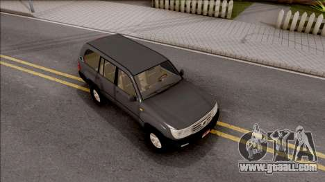 Toyota Land Cruiser 2005 for GTA San Andreas right view