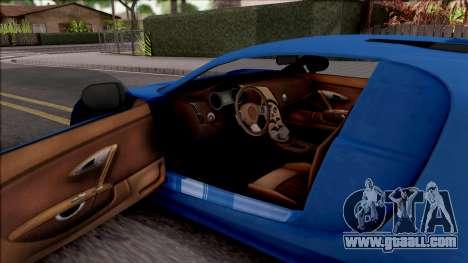 Truffade Adder for GTA San Andreas inner view