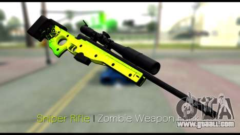 Zombie Weapon Pack for GTA San Andreas sixth screenshot