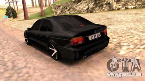 BMW E39 Armenian Vossen for GTA San Andreas left view