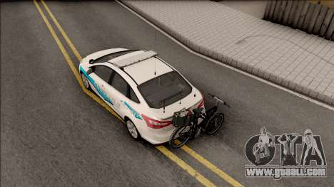 Ford Focus 2013 Flint County Constable Office for GTA San Andreas back view