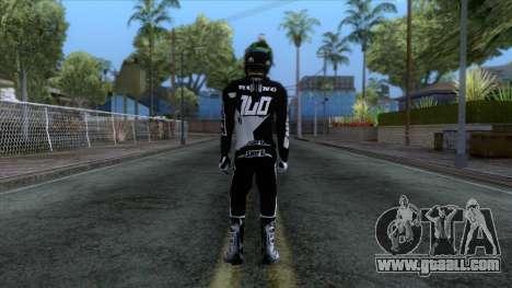 Motorcyclist Skin for GTA San Andreas third screenshot