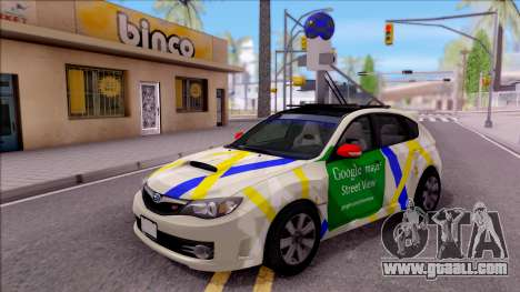 Subaru Impreza Google Street View Car for GTA San Andreas