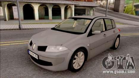 Renault Megane 2 HB Privilege for GTA San Andreas