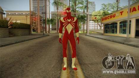 Marvel Ultimate Alliance 2 - Iron Spider v2 for GTA San Andreas second screenshot
